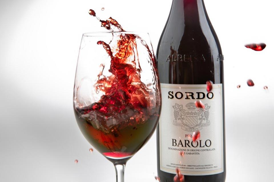 Degustazione menu e verticale di Barolo Sordo .