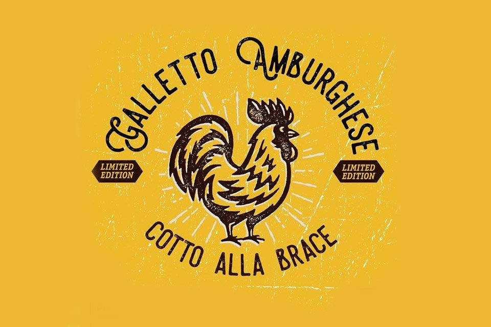 Galletto Amburghese: Menu Limited Edition a 18 euro.