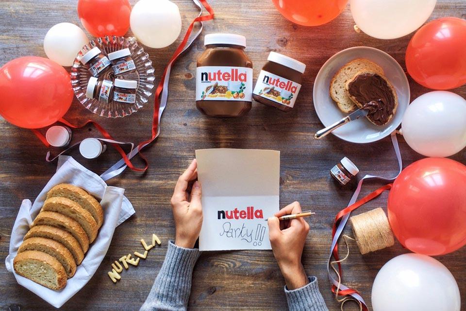 Fermi tutti ci stiamo preparando per l'evento più dolce di ottobre: Nutella Party.