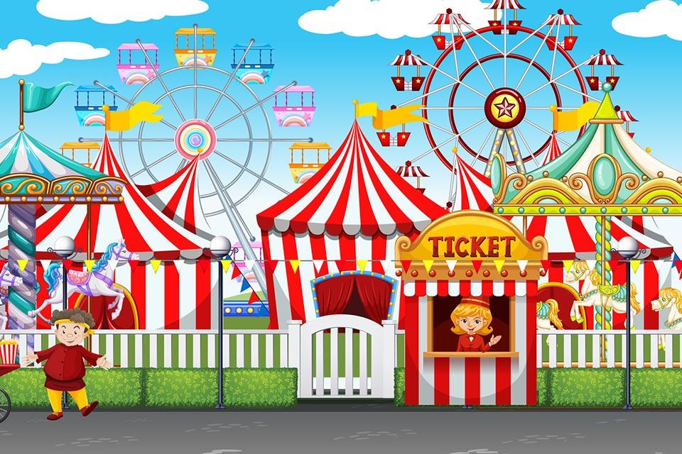 Carnival Park al Camp's.
