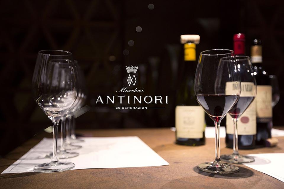 Degustazione Marchesi Antinori.