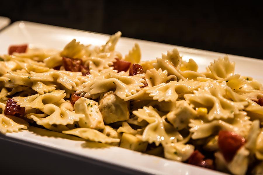 Pausa pranzo ai Castelli Romani.